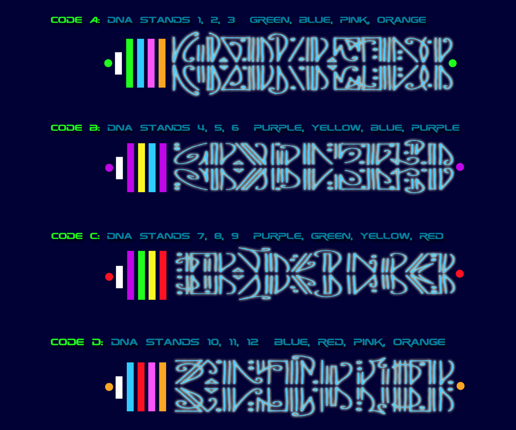 DNA Codes web